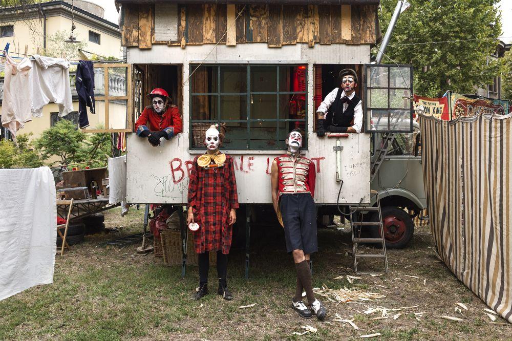 Los payasos del circo