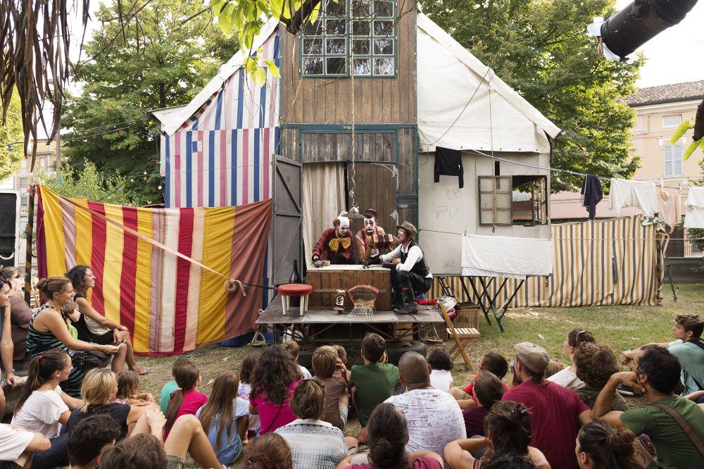 El circo y los niños