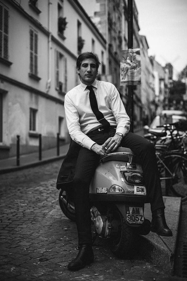 retratos de parisinos