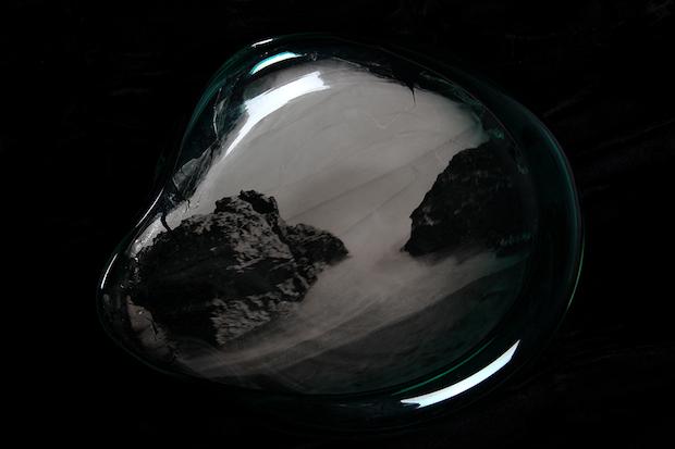 fotos en vidrio soplado