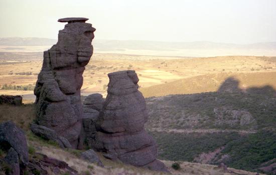 Paisaje y rocas