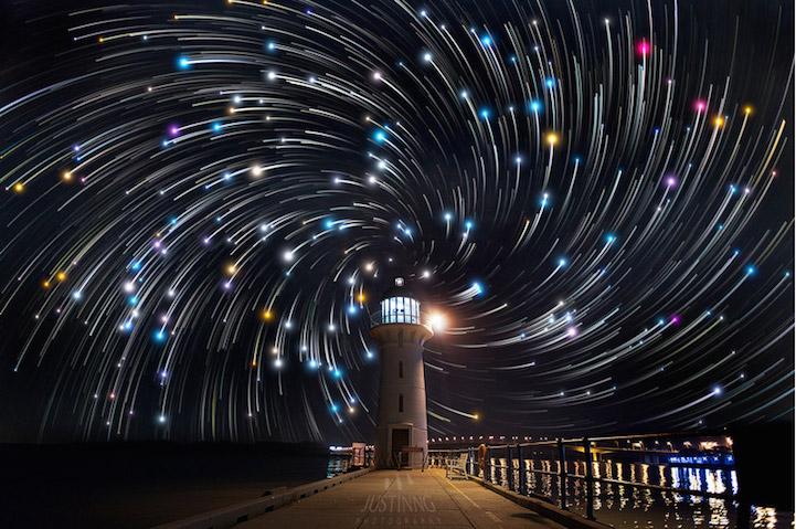 Cielo estrellado espectacular