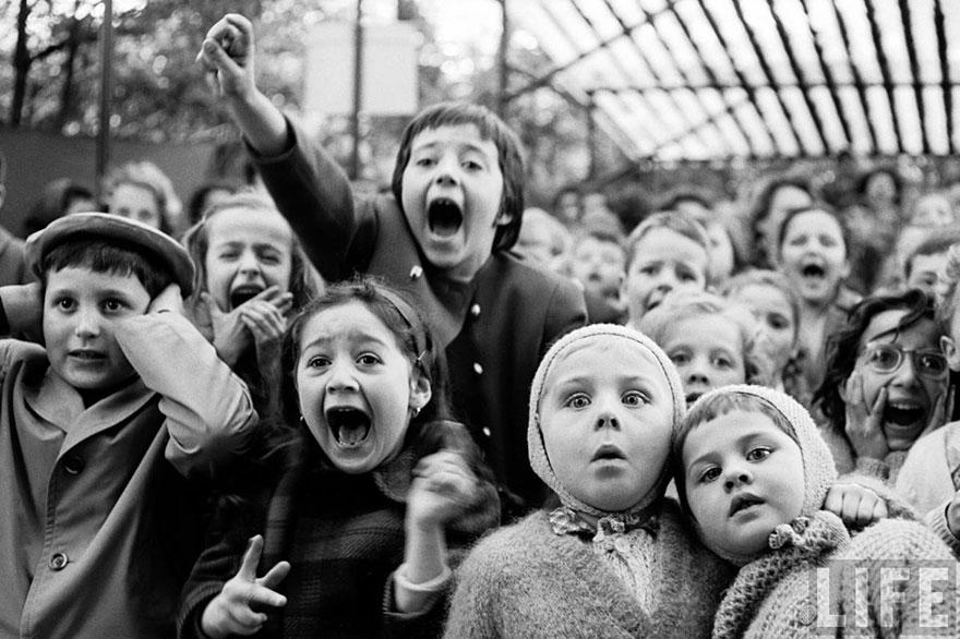 Foto que capta la emoción a través de la mirada.