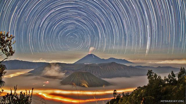 foto cíuculo de estrellas