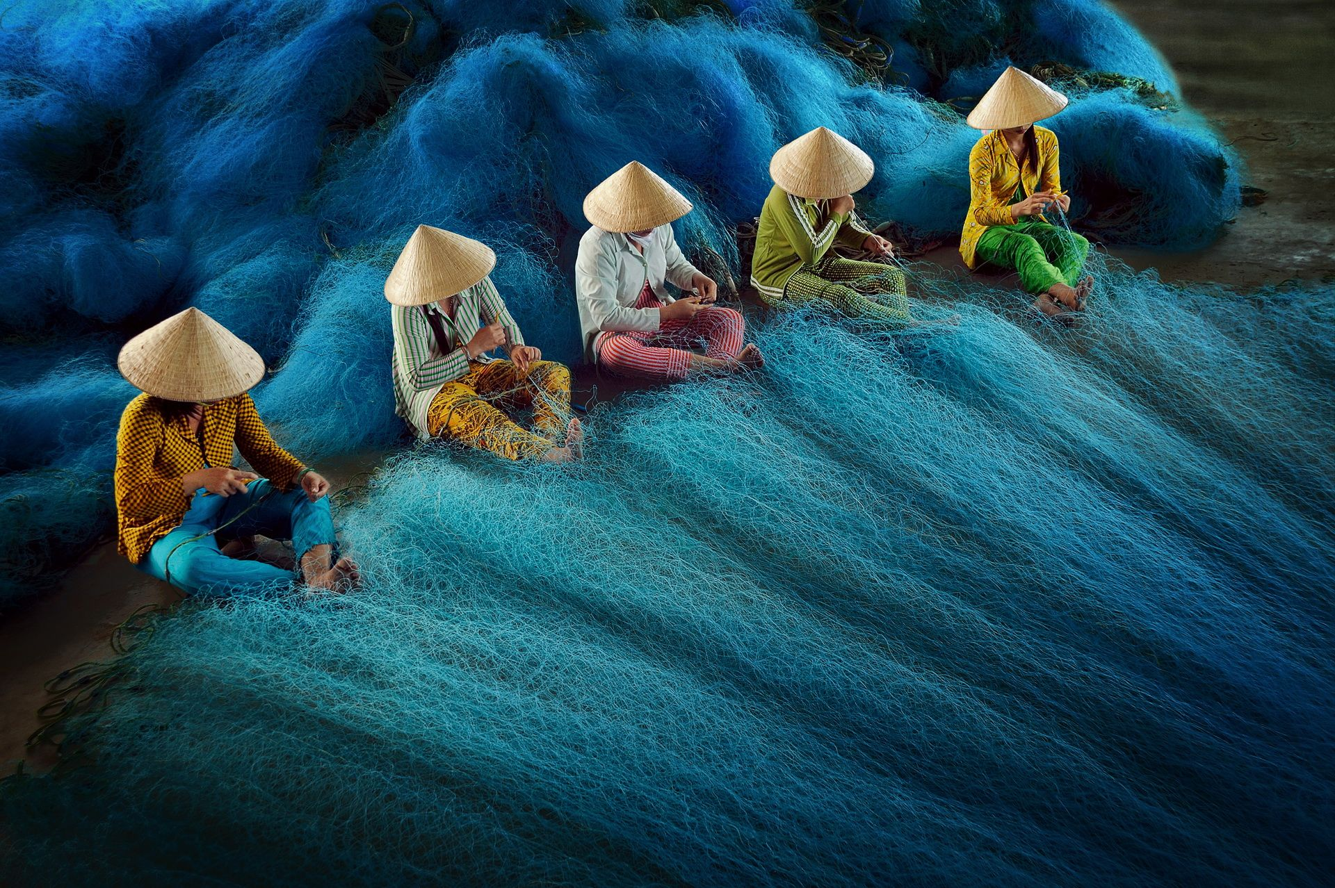 net-mending-hoang-long-ly-vietnam
