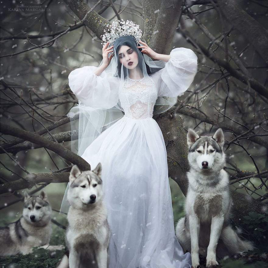 margarita kaleva foto novia