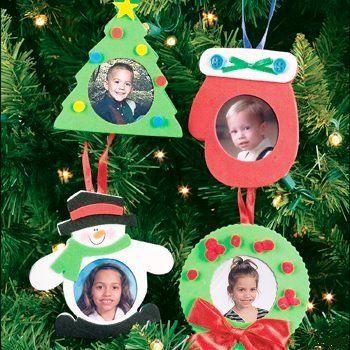 Adornos para el árbol de Navidad con fotos