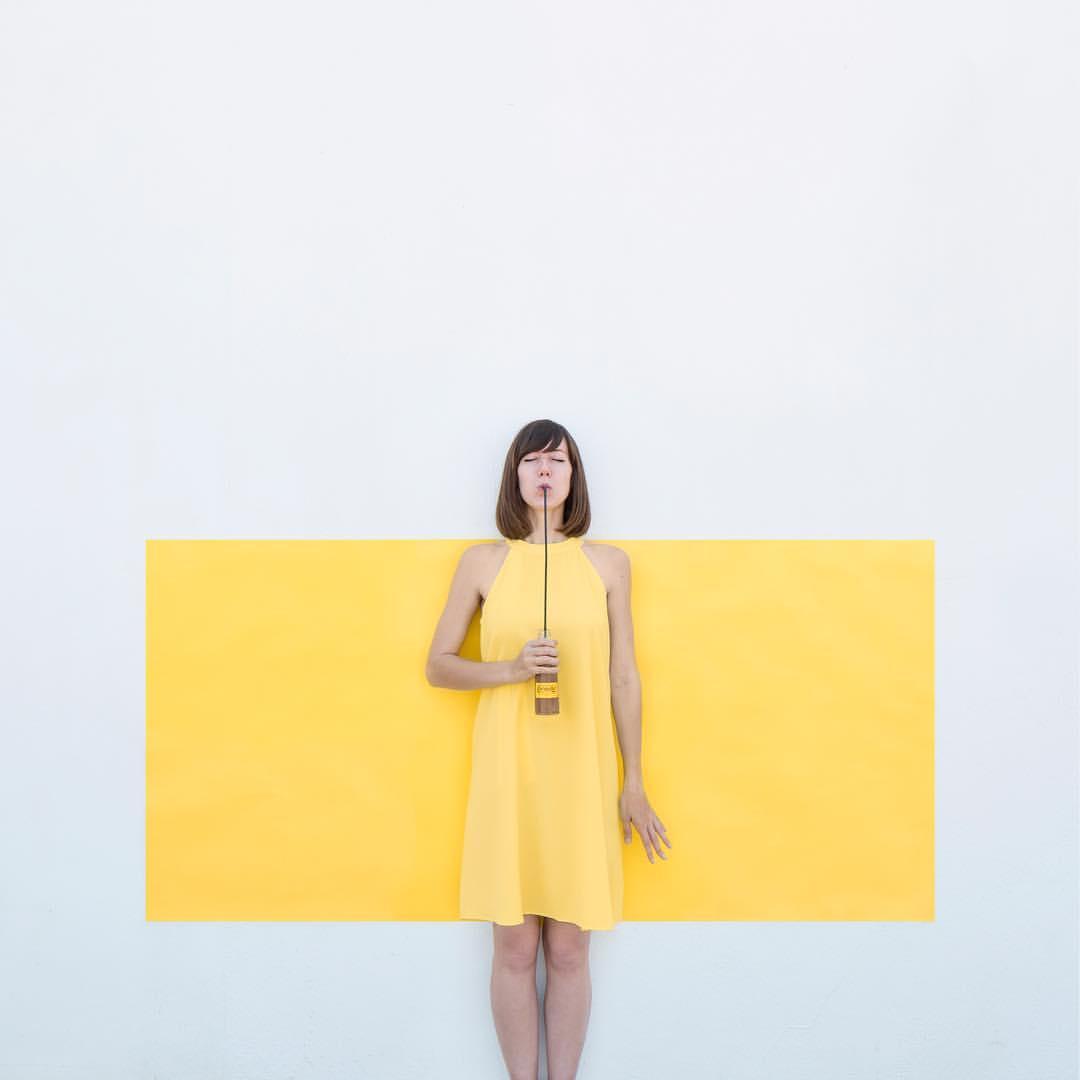 amarillo fotos creativas
