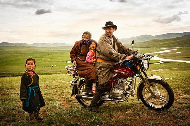 cultura nómada en Mongolia