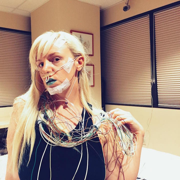fotos glamurosas en el hospital