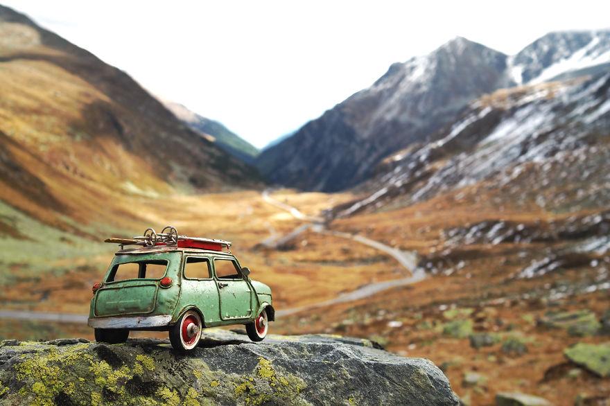 fotos coches explorando el mundo