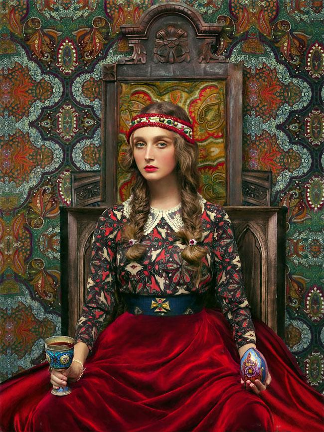retratos folclóricos
