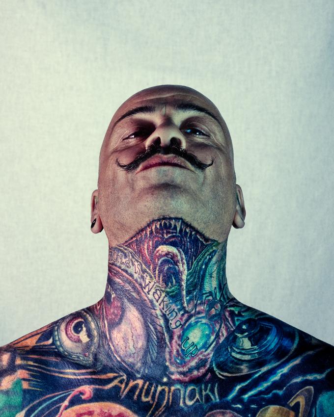 fotos de gente tatuada
