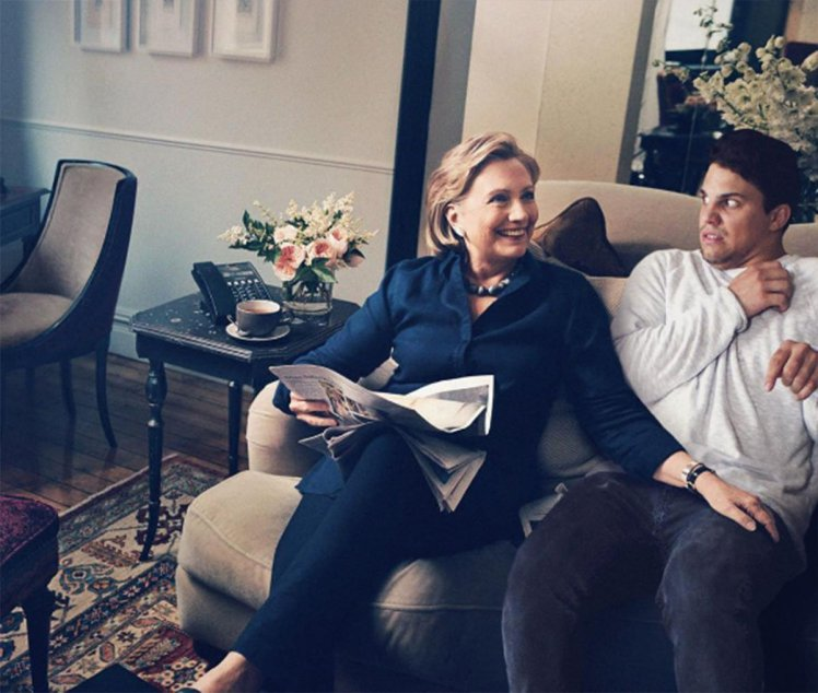 Average Rob Y Hillary Clinton