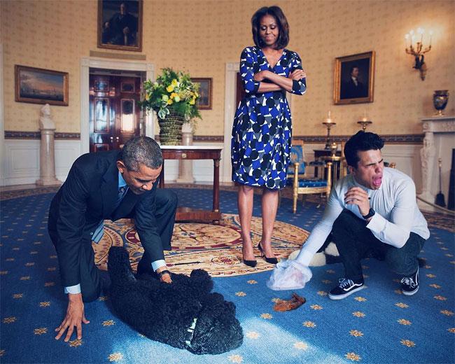 Average Rob y los Obama