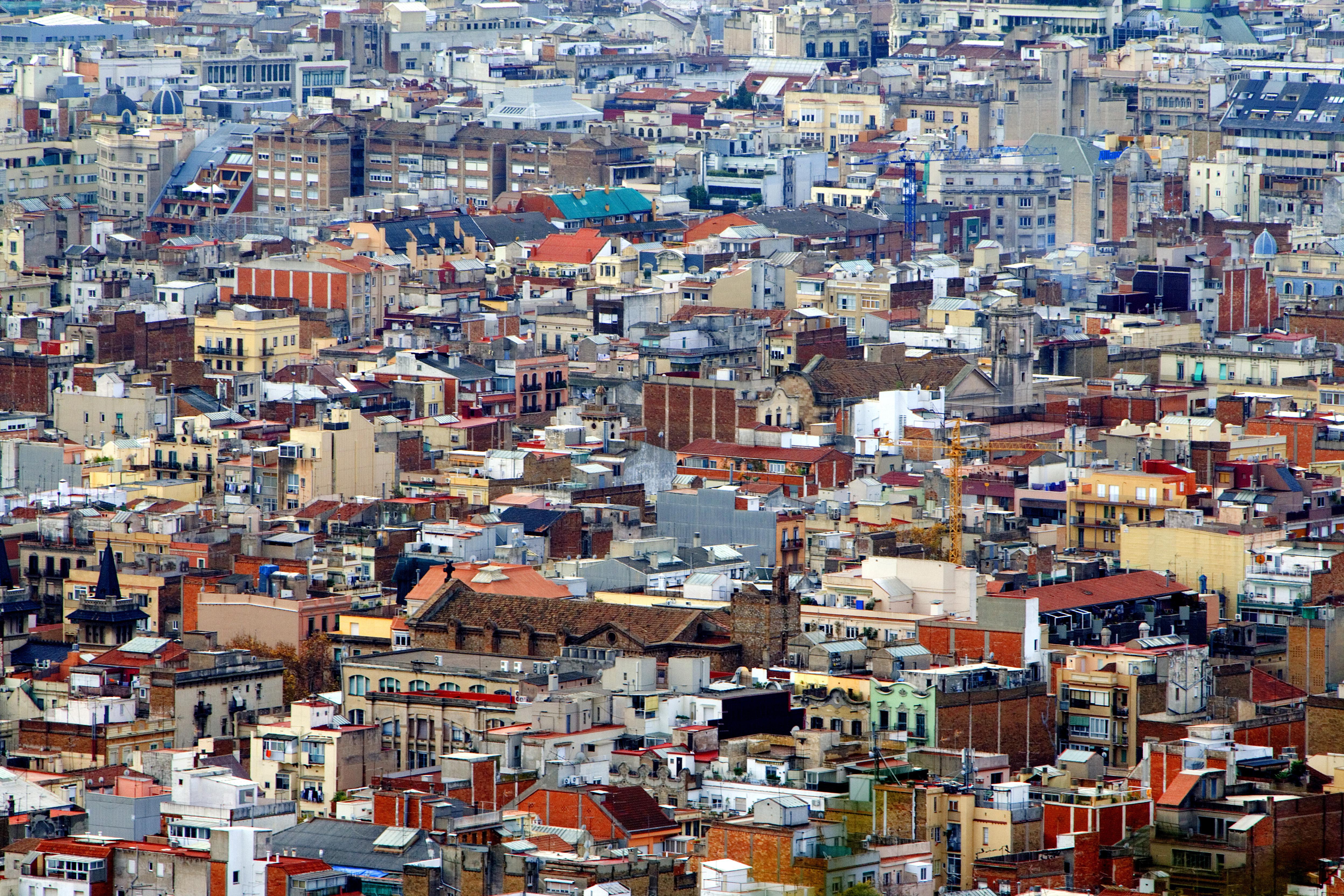 Casas en la ciudad de Barcelona