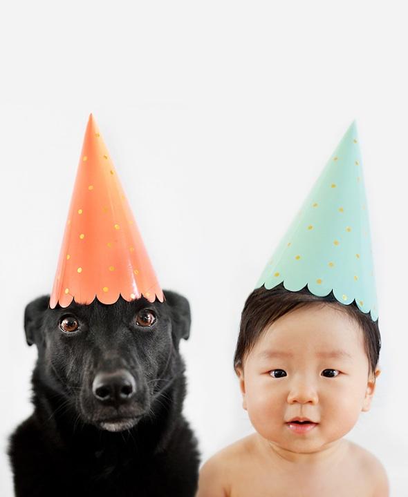 Zoey y Jasper de fiesta