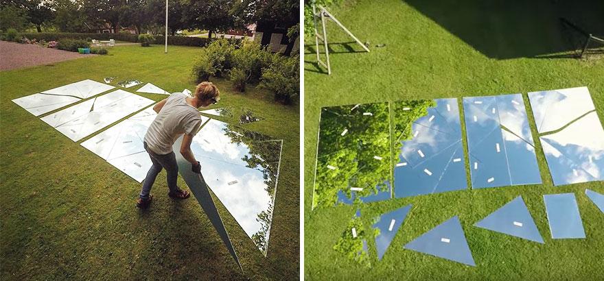 fotos con espejo de 17 metros cuadrados