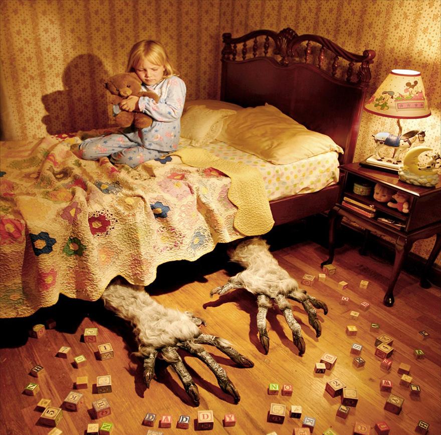 fotos terror con niños