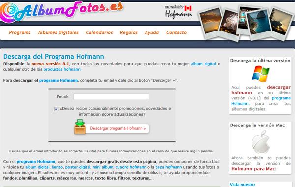 Descarga Programa Hofmann