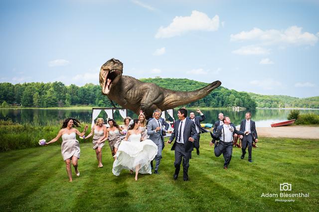 jjurassic park album de boda
