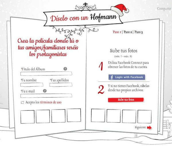 Felicita la navidad con Hofmann