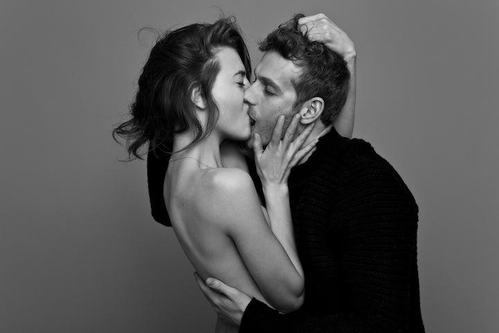 fotos de parejas besándose apasionadamente