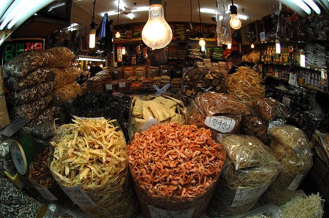 Mercado marisco