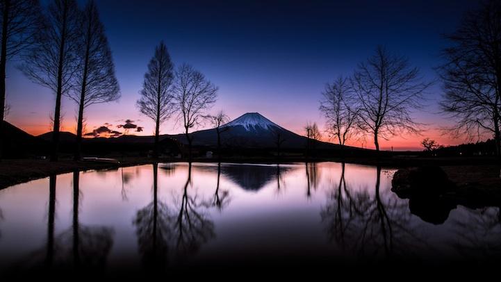 fotos monte fuji