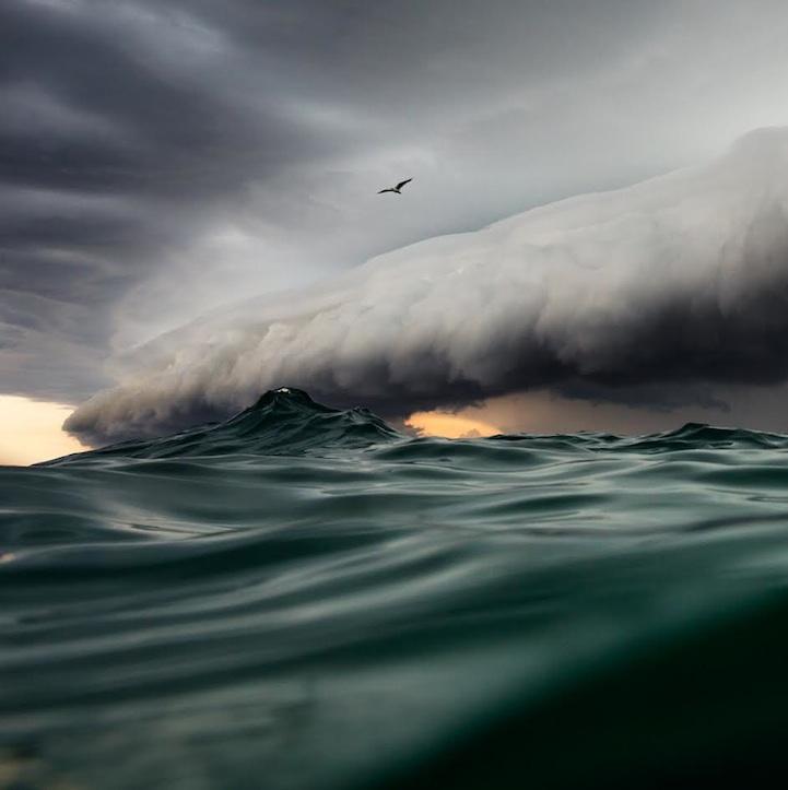 foto de la tormenta