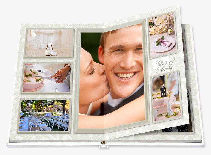 Álbum de boda como regalo para los novios