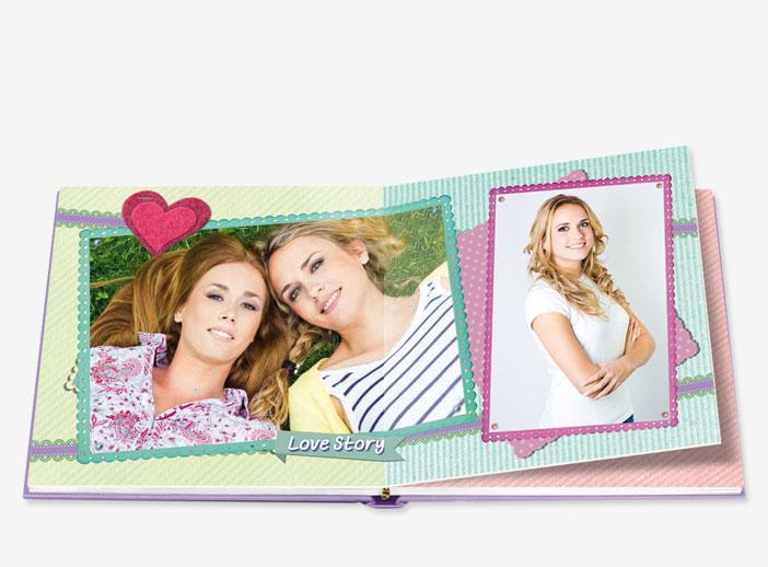 libro de fotos de iMoments para tu mejor amiga