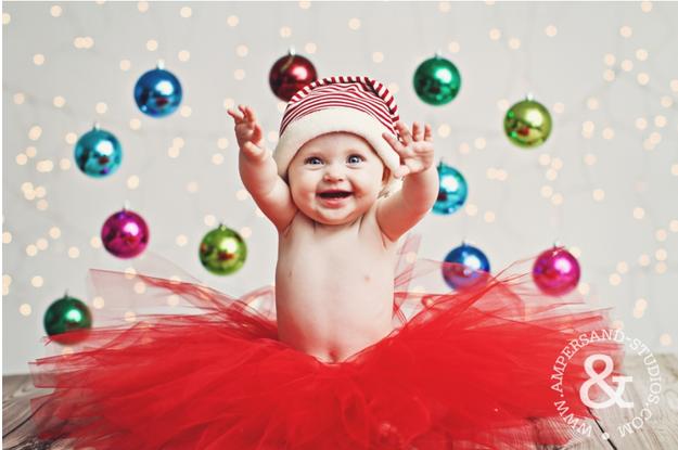 fotos bebes navidad