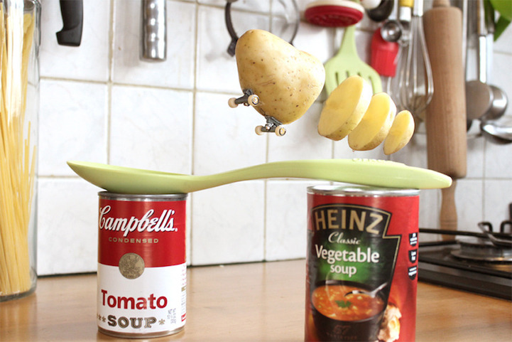 fotos de comida skater