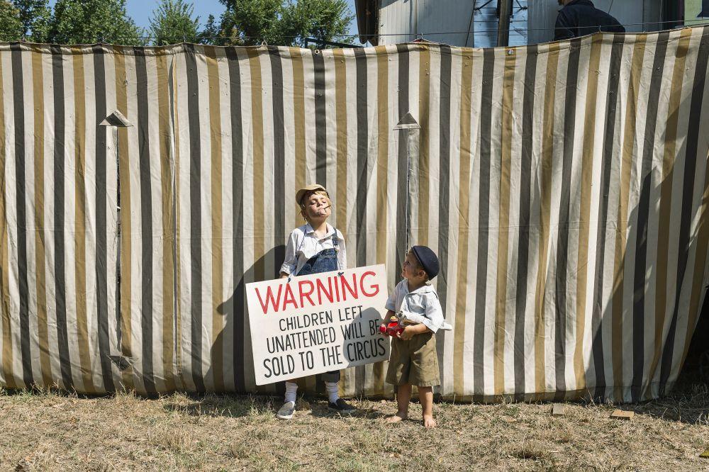 La vida de los niños en fammilias circenses