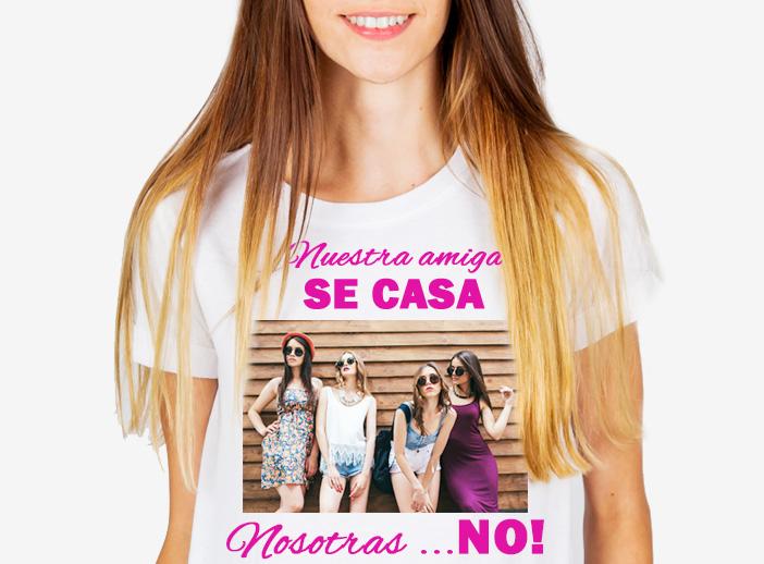 Camiseta personalizada despedida de soltera