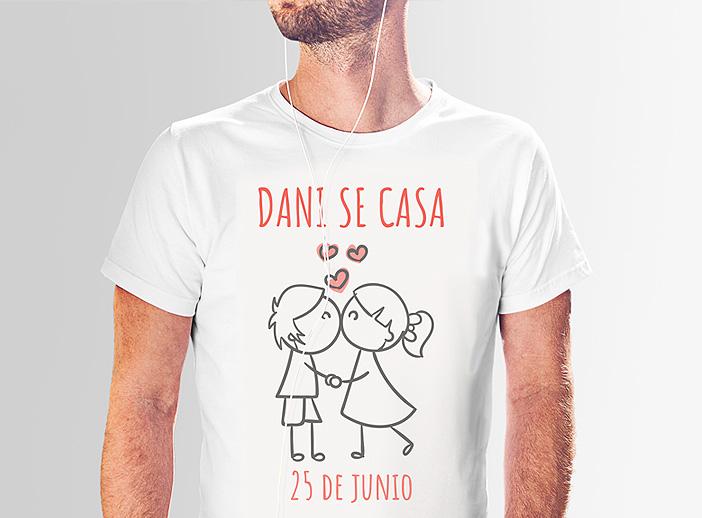 Camisetas personalizadas despedidas de solteros