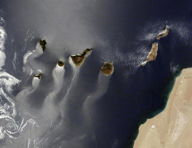 foto canarias nasa