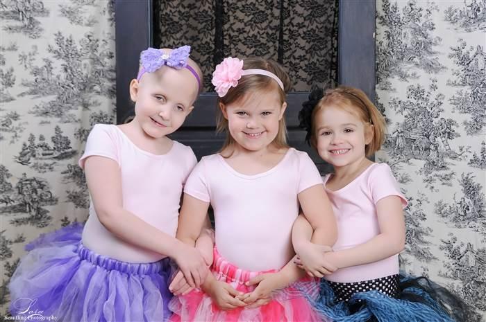 fotos niñas que superaron el cáncer