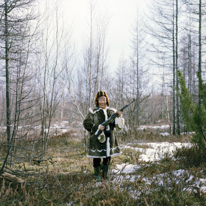 retratos de habitantes del Círculo Polar Ártico