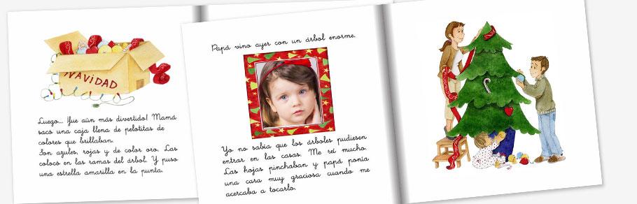 Cuento personalizado con fotos de tu niño o niña