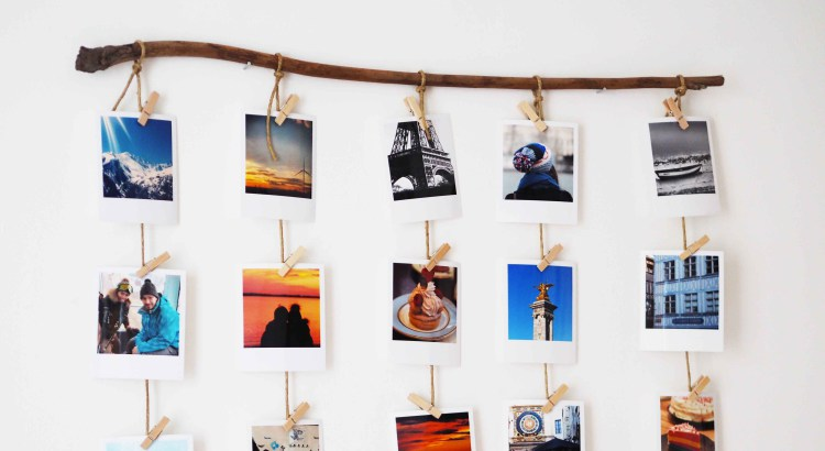 Decorar con Polaroids