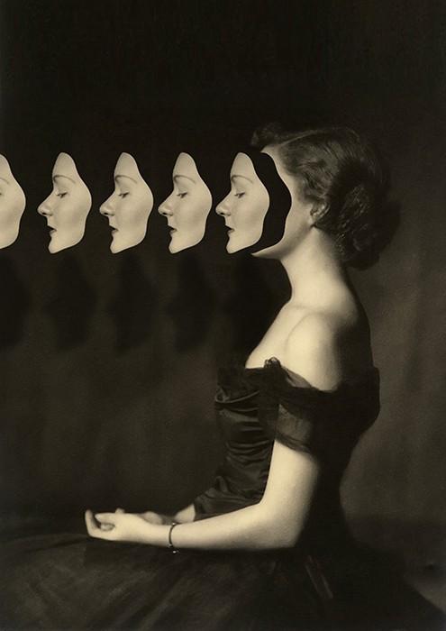 retratos surrealistas collages