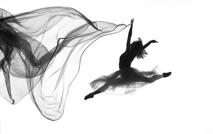 fotos de bailarines en acción