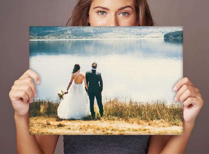 Foso de boda. Lienzo