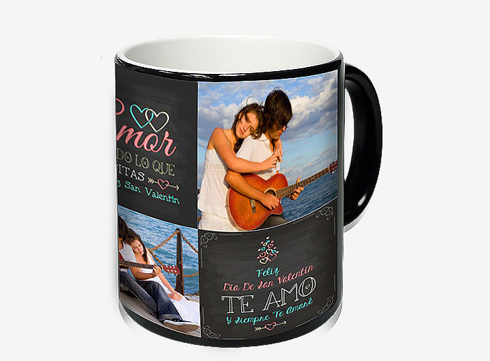 Regalo taza con foto San Valentín