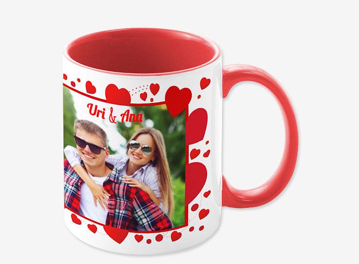 Una taza personalizada con vuestra foto para tu pareja