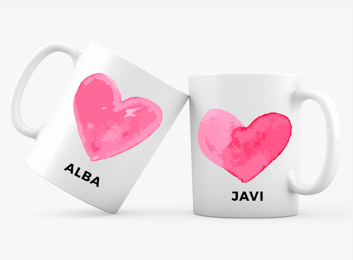 Taza regalo enamorados i-Moments