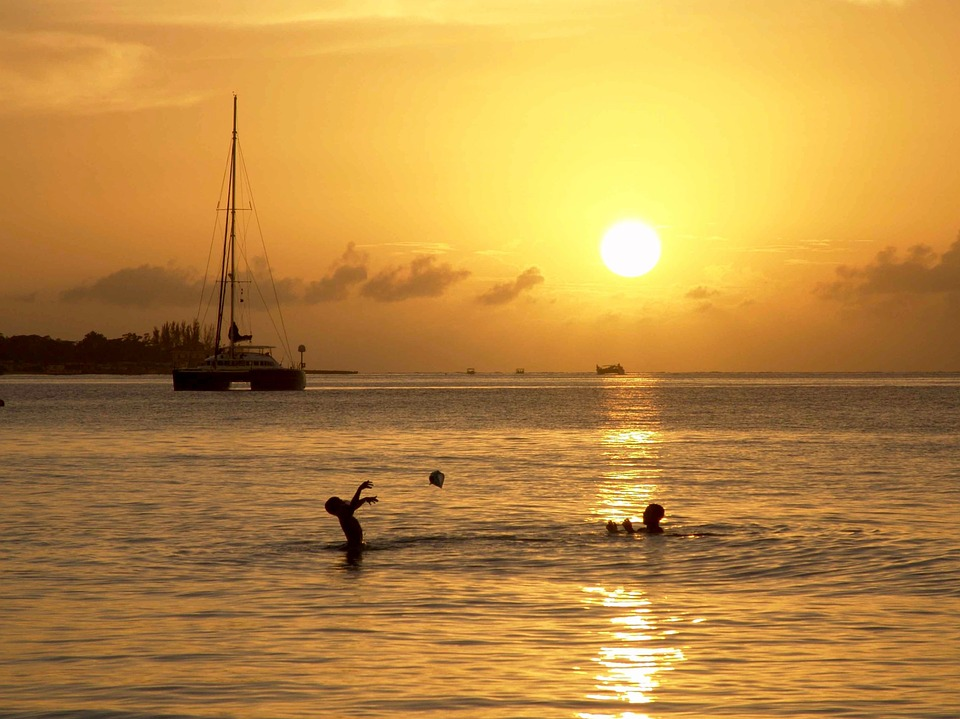 fotos vacaciones puesta de sol