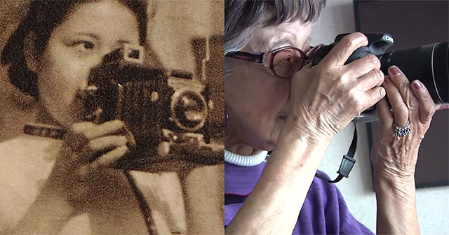 Fotoperiodista japonesa longeva